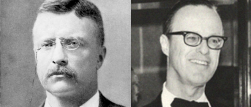 Theodore and James Roosevelt